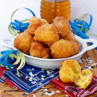 Sfingi, Sicilian Puff Pastry Fritters