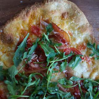 Speck + Arugula Pizza.