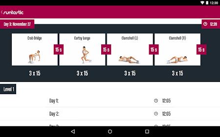 Runtastic Butt Trainer Workout 1.3 screenshot 31828