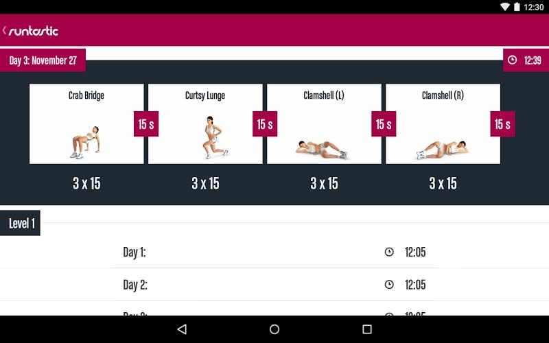 Runtastic Butt Trainer Workout Screenshot 12