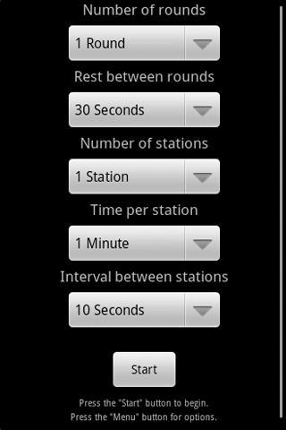 Boxing Circuit Timer- screenshot