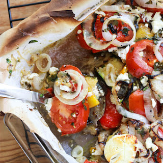 Zucchini and Eggplant Bake with Goat Cheese and Herbs Recipe