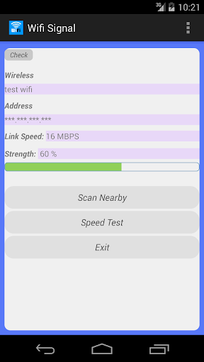 WiFi Signal Manager