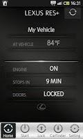 Screenshot of Lexus RES+