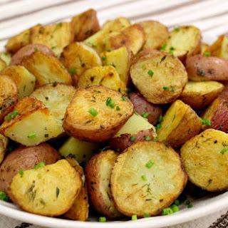 Rustic Herb Potatoes.