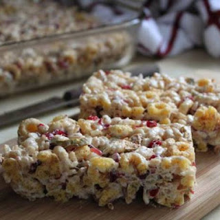 Apple Cherry Cereal Bars