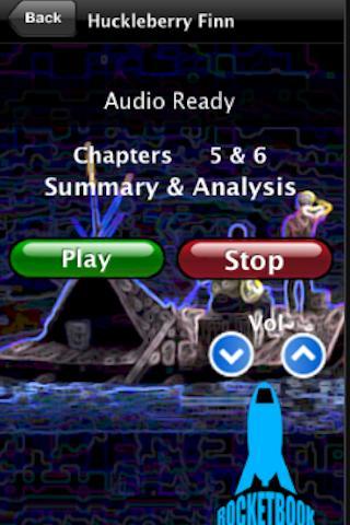 Audio- Huckleberry Finn- screenshot