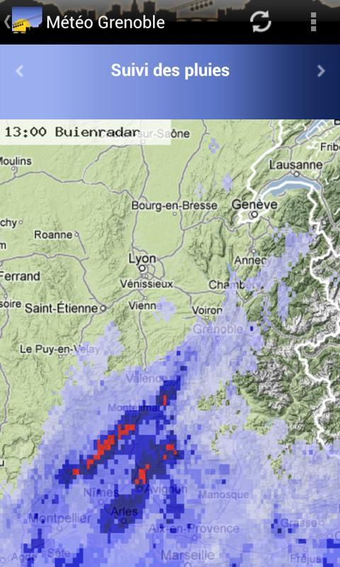Météo Grenoble- screenshot
