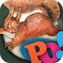 PopOut!Tale of Squirrel Nutkin logo