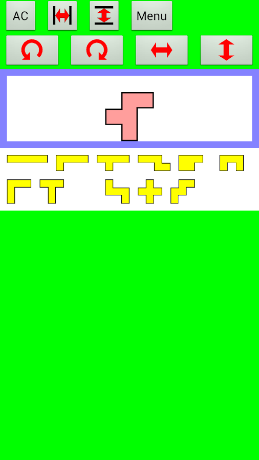 The Pentomino - screenshot