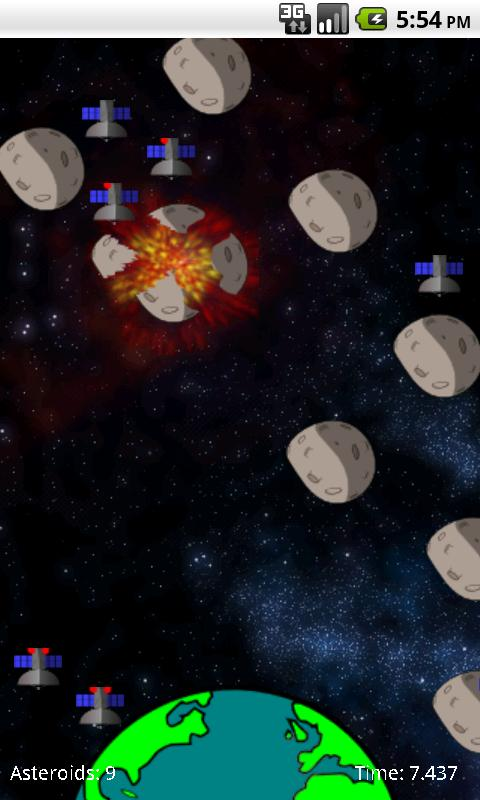SpaceDebris - screenshot