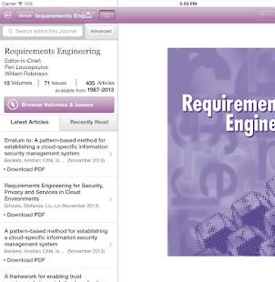 Requirements Engineering - screenshot thumbnail