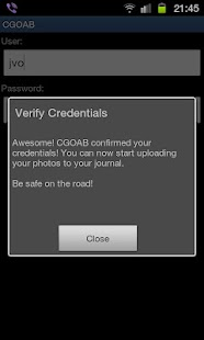 CGOAB photo uploader - náhled