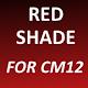 Red Shade - CM12 Theme v1.0