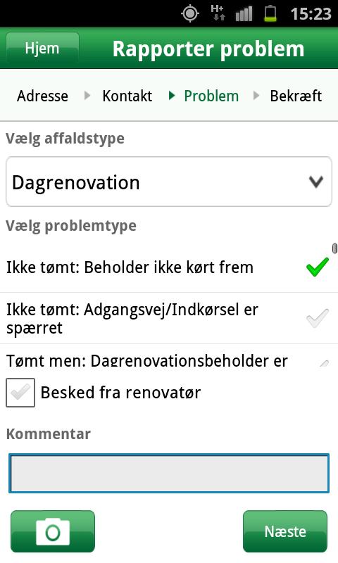 RenoMobil- screenshot