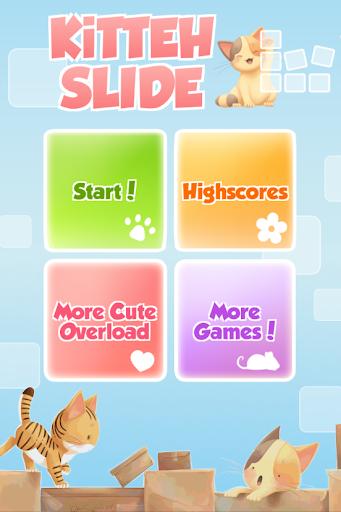 Kitten Slide Puzzle