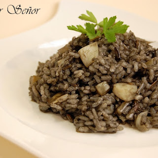 Black Rice with Cuttlefish.