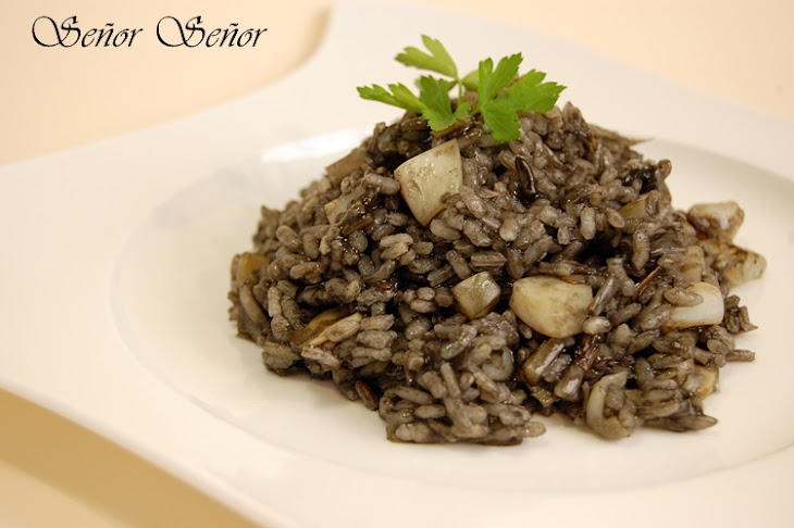Black Rice with Cuttlefish Recipe