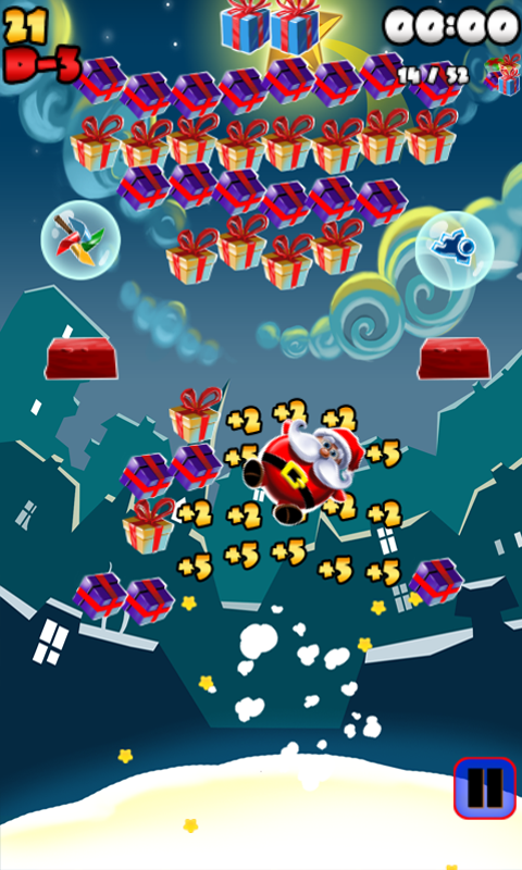 Jumping Santa- screenshot