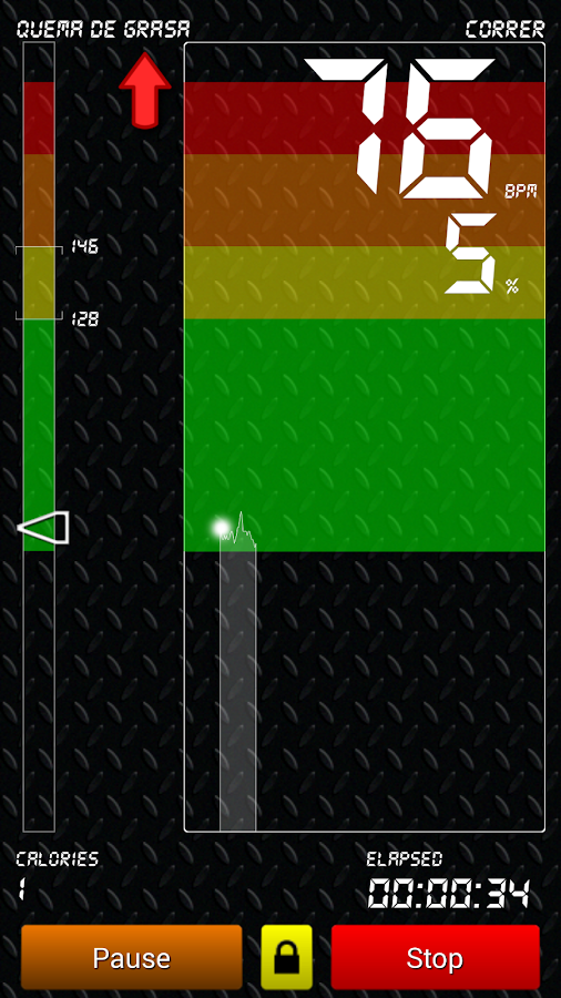 Cardio Training - screenshot
