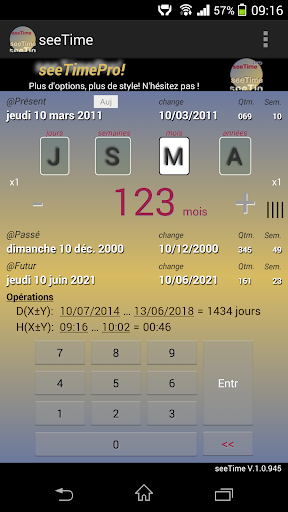 seeTime - Time Calculator