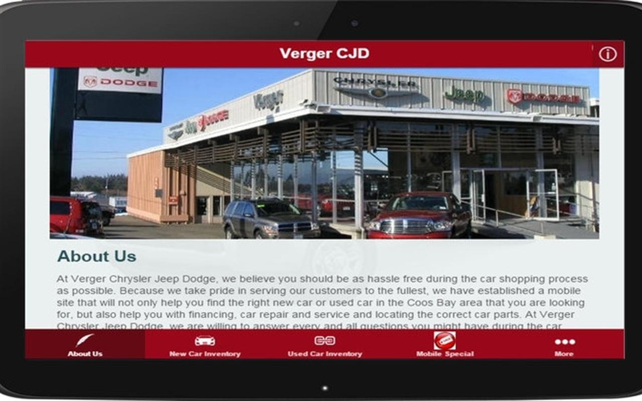 Verger CJD- screenshot