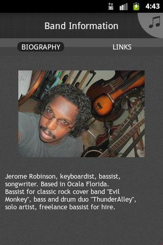 Jerome Robinson - screenshot