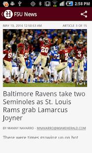 Noles Football - screenshot thumbnail
