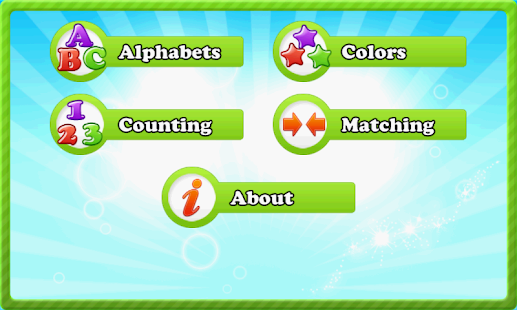 Alphabets Counting and Colors