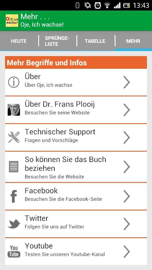 Oje, ich Wachse! - screenshot