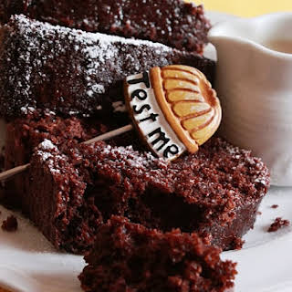 Cocoa Bundt Cake with Coconut and Soy Milk.