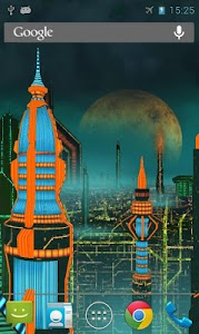 Space City 3D LWP (Gold) v1.6.1