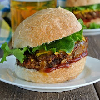 Spicy Green Lentil Burgers.