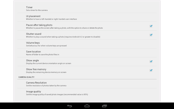 Download Open Camera APK latest version by Mark Harman for