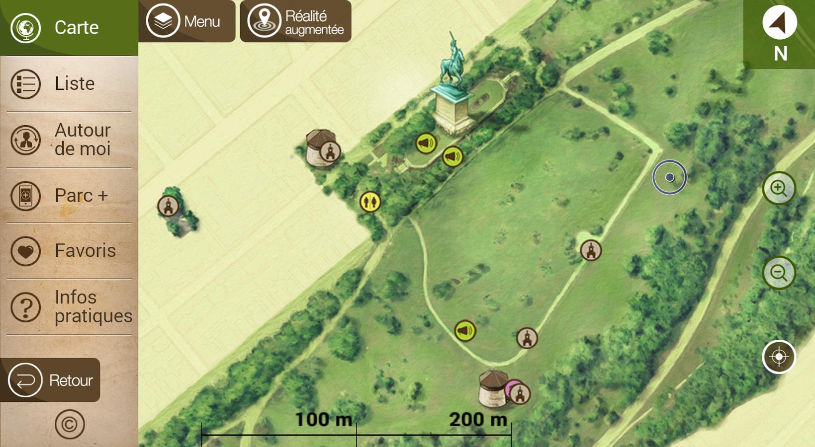 Mes Plaines mobiles - screenshot