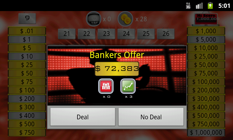 Deal To Be A Millionare!- screenshot