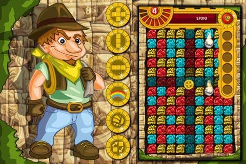 Maya Ruby Match Gold Blitz- screenshot