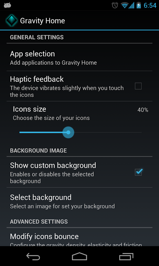 Gravity Home Pro - screenshot