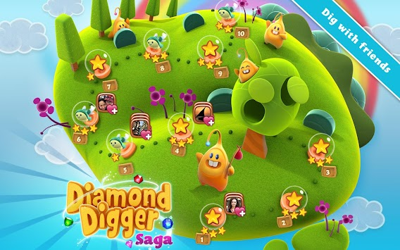 Diamond Digger Saga apk screenshot