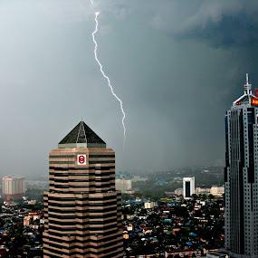 Lightning Strike 2 by Omrin Kamarudin - City,  Street & Park  Skylines