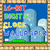 16 Bit Clock TRIAL Wallpaper