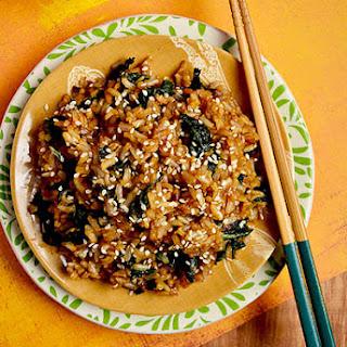 Kale Fried Rice.
