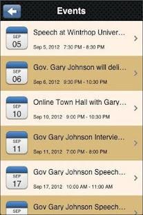 Gary Johnson 2012 - screenshot thumbnail