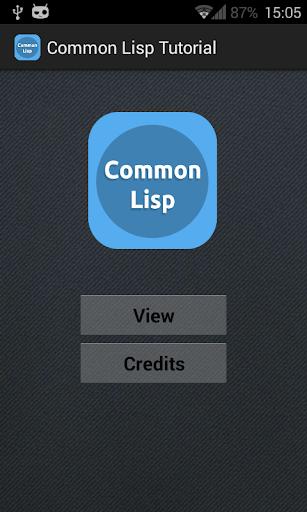 Common Lisp Tutorial