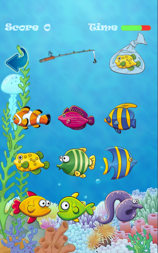 Fishing the fishes kids game android apps on google play for The fish game