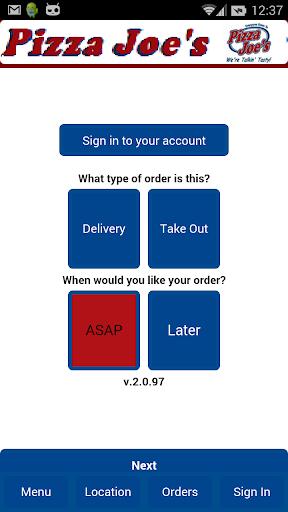 Pizza Joe's - Online Ordering