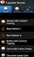 Screenshot of Cupcake Recipes