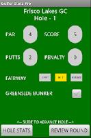 Screenshot of Golfer Stats Pro