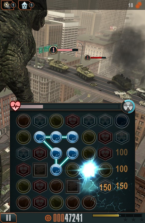 Godzilla - Smash3- screenshot