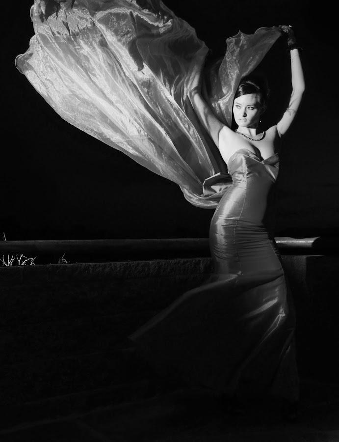 by Patrick Orcutt - Black & White Portraits & People ( person, b&w, woman, portrait )